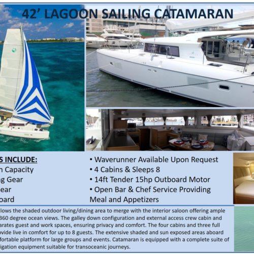 42' Lagoon Catamaran 1