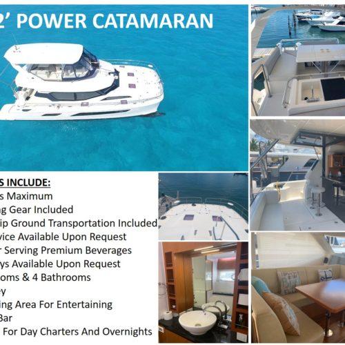 42' Power Catamaran Pic
