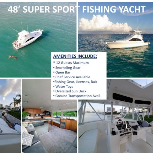 48' Super Sport Fishing Yacht 10