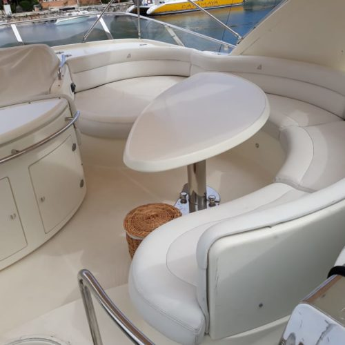55' Azimut With Flybridge Luxury Yacht 7