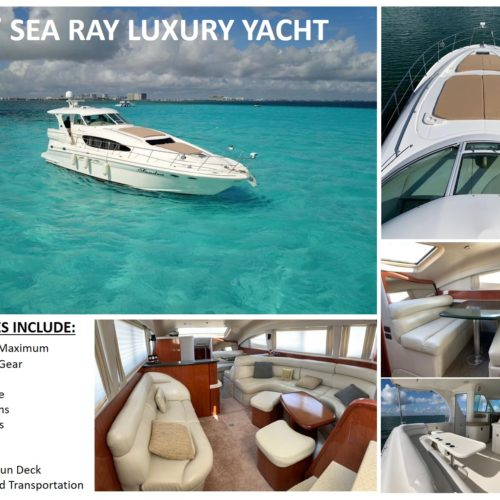 60' Sea Ray Luxury Yacht Pic