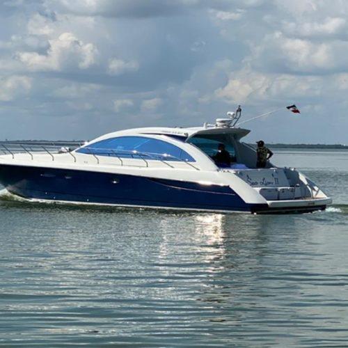 55' Ferretti Luxury Yacht