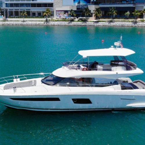 55' Prestige With Flybridge Luxury Yacht 5