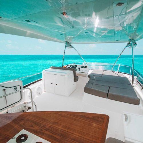 55' Prestige With Flybridge Luxury Yacht 8