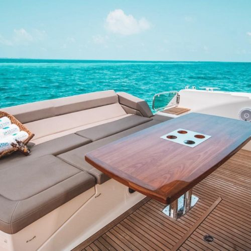 55' Prestige With Flybridge Luxury Yacht 9