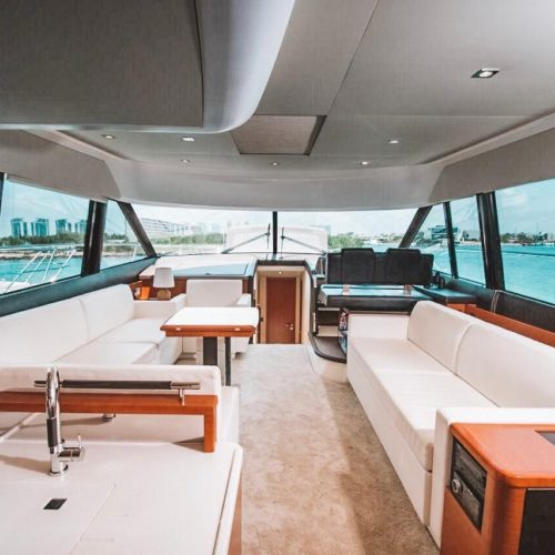 55' Prestige with Flybridge Luxury Yacht 2