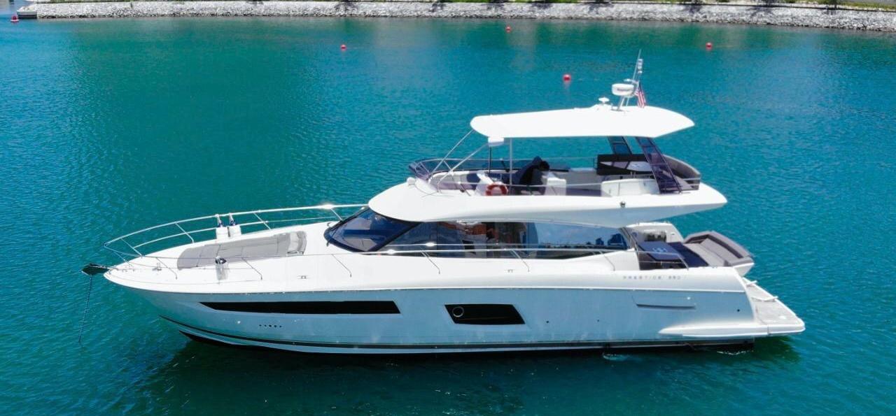 55' Prestige WithFlybridge Luxury Yacht
